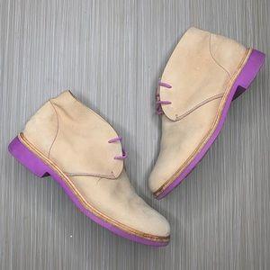 Cole Haan Brogan Eva Chukka Boots